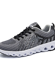 cheap -Men's Tulle Spring / Fall Comfort Athletic Shoes Running Shoes Gray / Red / Light Blue
