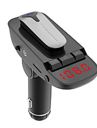 billiga -Universal Bilspårpositionering ER9 Bluetooth 4,2 Bluetooth-set för bilen Stilig Bluetooth FM Transmitters Mp3