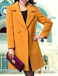 cheap -Women's WorkWear Date Daily Wear Simple Casual Long Solid Polyester Others