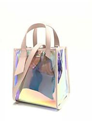 baratos -Mulheres Bolsas PVC / PU Conjuntos de saco 2 Pcs Purse Set Botões para Festa / Eventos / Casual Azul / Rosa