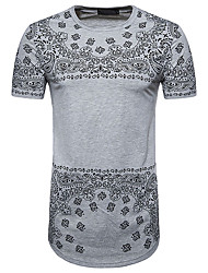 abordables -Tee-shirt Homme, Fleur Chinoiserie