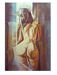 baratos -Estampado Laminado Impressão De Canvas - Abstrato Pessoas Modern
