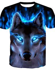 preiswerte -Herrn Tier-Grundlegend T-shirt Druck