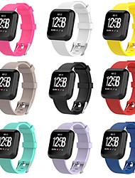 Недорогие -Ремешок для часов для Fitbit Versa Fitbit Спортивный ремешок силиконовый Повязка на запястье