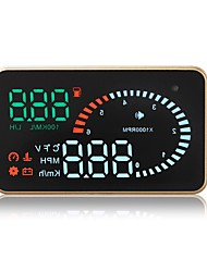 cheap -X6 3.5 inch LED Wired Head Up Display LED indicator / Plug and play / Multi-functional display for Car / Bus / Truck Measure Driving Speed / Driving Speed / Display KM / h MPH