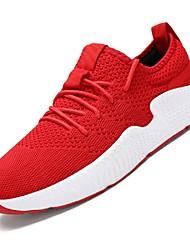 abordables -Homme Chaussures Filet / Tulle Eté Confort / Semelles Légères Basket Course à Pied / Tennis / Athlétisme Noir / Rouge / Noir / blanc
