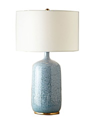 cheap -Rustic / Lodge Decorative Table Lamp For Ceramic 220-240V Blue