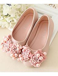 economico -Da ragazza Scarpe PU (Poliuretano) Primavera / Autunno Comoda / Scarpe da cerimonia per bambine Ballerine per Bianco / Rosa