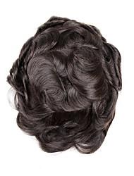 cheap -Men's Unique Design Nature Inspired Human Hair 100% Hand Tied Unique Design Nature Inspired