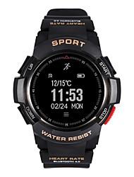 Недорогие -Будильники / Многофункциональные часы / Смарт Часы YY-F6 для Android 4.4 / iOS Израсходовано калорий / Педометры / Датчик частоты пульса / Контроль APP / Секундомер / Напоминание о звонке
