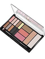 abordables -Makeup 3pcs Le fard à paupières Pro Mélange Fards à Paupières / Ombre à Paupières Imperméable Coloré Maquillage Smoky-Eye / Maquillage de