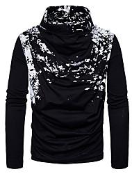 Недорогие -Муж. Активный Пуловер - Однотонный