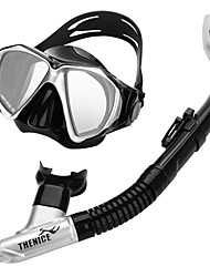 cheap -THENICE Snorkeling Set / Diving Package - Diving Mask, Snorkel - Anti Fog, Hot Sale, Dry Top Swimming, Diving Eco PC, Mixed Material  For