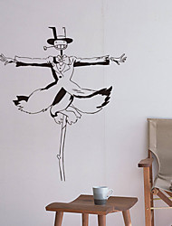 cheap -Wall Decal Decorative Wall Stickers - People Wall Stickers Photographic Re-Positionable Removable
