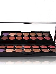 cheap -Sedona 1 colors EyeShadow Glow Combination / Dry / Normal Eyeshadow Palette / Loose powder Loose powder Colorful Daily Makeup / Party Makeup / Fairy Makeup / Matte