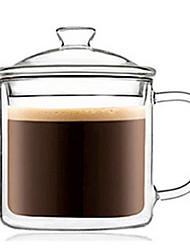 cheap -Drinkware High Boron Glass Glass Mug Heat-Insulated 1pcs