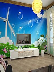 abordables -Mural Toile Revêtement - adhésif requis Décoration artistique Motif 3D
