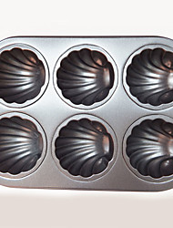 cheap -Kitchen Tools Metal Non-Stick Mold For Cake 1pc