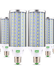 Недорогие -ywxlight® 6pcs e27 60w 5850-5950lm высокая мощность лампочки 160 светодиодных шариков 5730smd алюминий теплый белый холодный белый натуральный белый светодиодный светильник кукурузный свет ac 85-265v