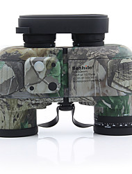 cheap -10 X 50 mm Binoculars Pro / Concealment Army Green / Camouflage Camping / Hiking / Casual / Hunting and Fishing / IPX-6K / IPX-7 / Fully Multi-coated / Range finding / Military