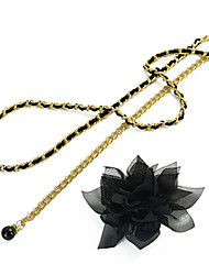 cheap -Women's Cute Leather Alloy Chain - Floral