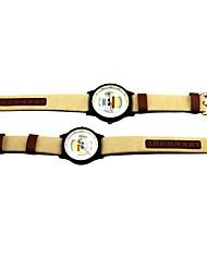 Недорогие -Часы Вдохновлен One Piece Monkey D. Luffy Аниме Косплэй аксессуары Часы Хром