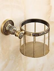 Недорогие -Держатель для туалетной бумаги Многофункциональный Античный Латунь 1шт - Гостиничная ванна На стену