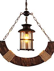 Недорогие -Подвесные лампы Потолочный светильник - Мини, Деревенский, 110-120Вольт 220-240Вольт Лампочки не включены