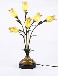 economico -Metallico / Artistico Creativo / Decorativo Lampada da tavolo Per Salotto / Sala studio / Ufficio Metallo 110-120V / 220-240V