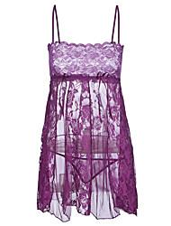 preiswerte -Damen Anzüge / Babydoll & slips Nachtwäsche - Spitze, Solide