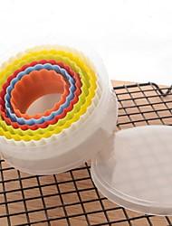 baratos -Ferramentas bakeware Plástico Criativo / Faça Você Mesmo Biscoito / Cupcake / para bolo Cortadores de Massa 6pcs