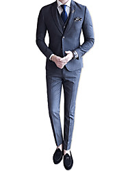 cheap -Men's Suits-Striped Notch Lapel / Long Sleeve / Work