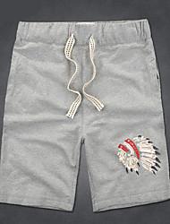 abordables -Hombre Deportivo Shorts Pantalones - Animal