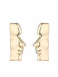 cheap -Women's Stud Earrings / Drop Earrings - Face Vintage, Gothic, Fashion Golden For Party / Carnival / Going out