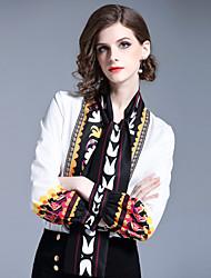 cheap -SHIHUATANG Women's Active / Street chic Shirt - Geometric Print