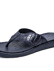 cheap -Men's Shoes EVA Summer Fall Moccasin Comfort Slippers & Flip-Flops for Casual Outdoor Black Gray Brown Blue