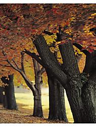 Недорогие -Сад Пейзаж Декор стены Полиэстер Современный Modern Предметы искусства, Стена Гобелены Украшение