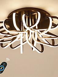 Недорогие -Ecolight™ Линейные Монтаж заподлицо Рассеянное освещение Анодирование Алюминий Акрил Диммируемая, Милый 110-120Вольт / 220-240Вольт Теплый белый / Белый / Диммируемый с дистанционным управлением