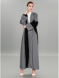 cheap -BENEVOGA Women's Sophisticated / Street chic Abaya - Color Block, Patchwork