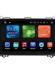abordables -9inch 1 Din 1024 x 600 Android 7.1 Coches reproductor de DVD para Mercedes-Benz Bluetooth Integrado / GPS / RDS - AVI / MP3 / WMA