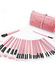 preiswerte -32pcs Makeup Bürsten Professional Bürsten-Satz- Nylonfaser Umweltfreundlich / Weich Holz / Bambus
