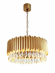 cheap -QIHengZhaoMing Crystal Chandelier Ambient Light - Crystal, 110-120V / 220-240V, Warm White, Bulb Included / 10-15㎡