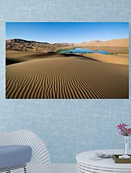 abordables -Autocollants muraux décoratifs / Autocollants de sol - Autocollants muraux 3D Paysage / 3D Salle de séjour / Salle de bain