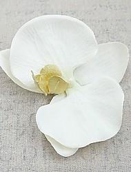 baratos -Flores artificiais 4.0 Estilo simples / Pastoril Estilo Orquideas Flor de Mesa