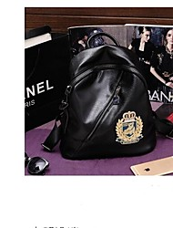 cheap -Women's Bags Other Leather Type School Bag Zipper Black