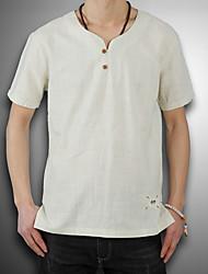 povoljno -Majica s rukavima Muškarci - Vintage Dnevno Jednobojni
