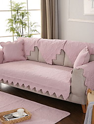 cheap -Sofa Cover Solid Colored Yarn Dyed Cotton / Polyester Slipcovers