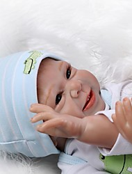 cheap -NPKCOLLECTION Reborn Doll Baby Girl 20 inch Silicone Kid's Unisex Gift