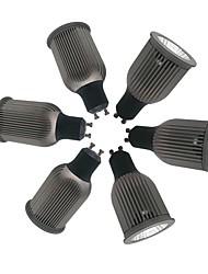 cheap -ZDM® 6pcs 9W 1 LEDs LED Spotlight Warm White Cold White Natural White 85-265V Cabinet Commercial Home / Office