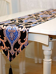 baratos -Moderna PVC Quadrada Toalhas Finas de Mesa Listrado / Geométrica Decorações de mesa 1 pcs